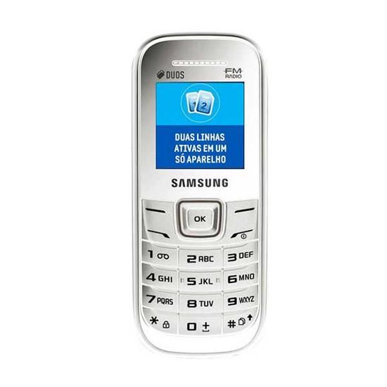 Samsung E1207 White