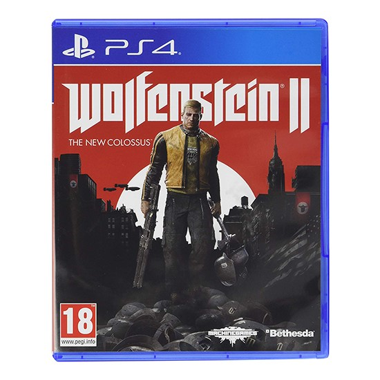 Wolfenstein 2 The New Colossus for PS4