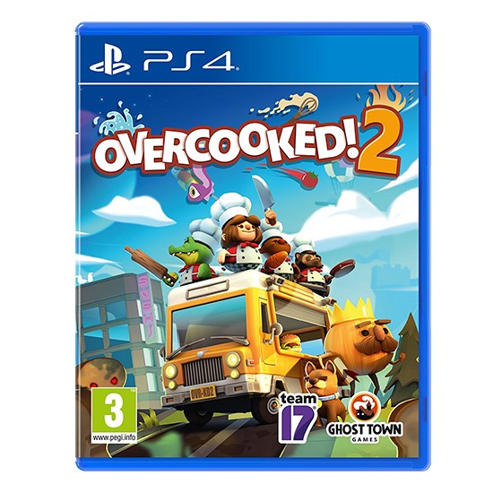 Overcooked 2 for PS4