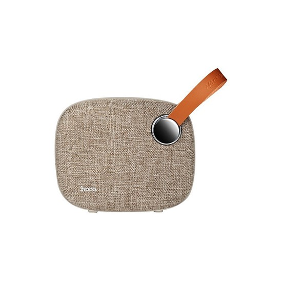 Hoco Plain Textile Desktop BS8 Wireless Speaker brown