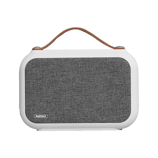 Remax Portable Fabric RB-M17 Bluetooth Speaker white