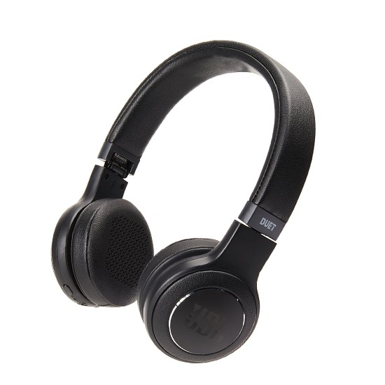 JBL Wireless on-ear headphones Duet BT black
