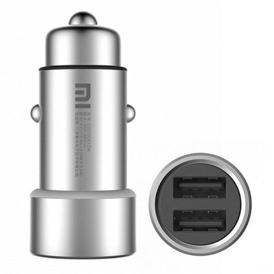 Xiaomi Car Charger 2 USB CZCDQ01ZM silver