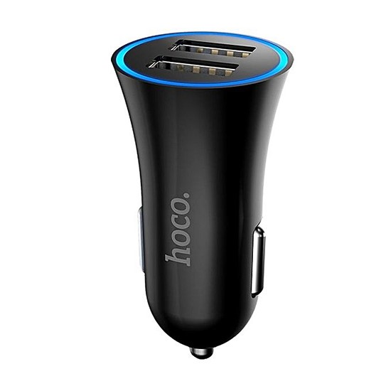 Hoco Car Charger UC204 Black