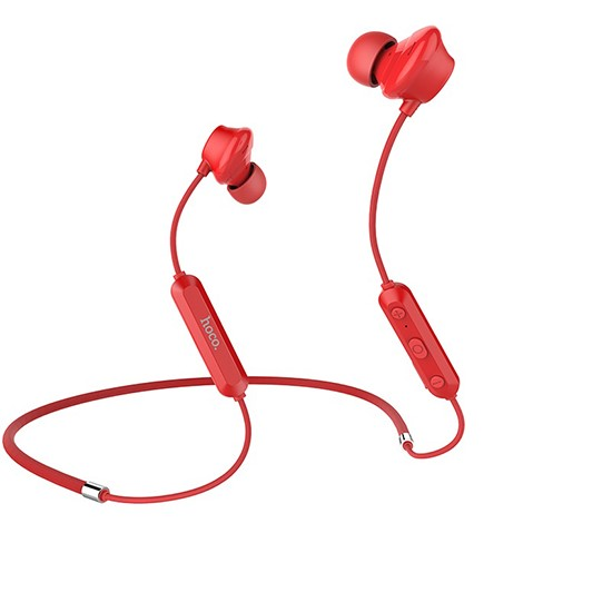 Изображение Hoco Cool Music Sporting Wireless Earphone ES17 red