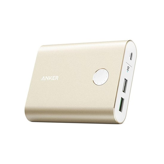 Anker PowerCore+ 13400mAh with Quick Charge 3.0 gold