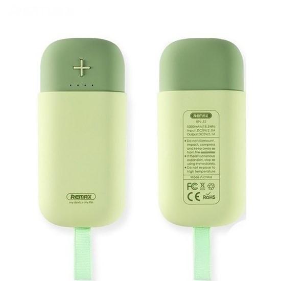Remax Power Bank CamaRoon 5000mAh RPL-32 green