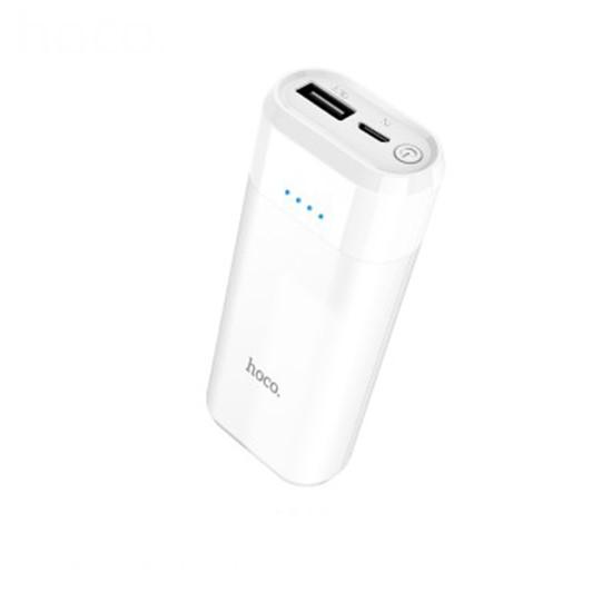 Изображение Hoco Power Bank 5200mAh Portable Entourage Mobile B35A white