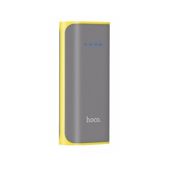 Hoco Power Bank 5200mAh Tiny Concave Pattern B21 grey