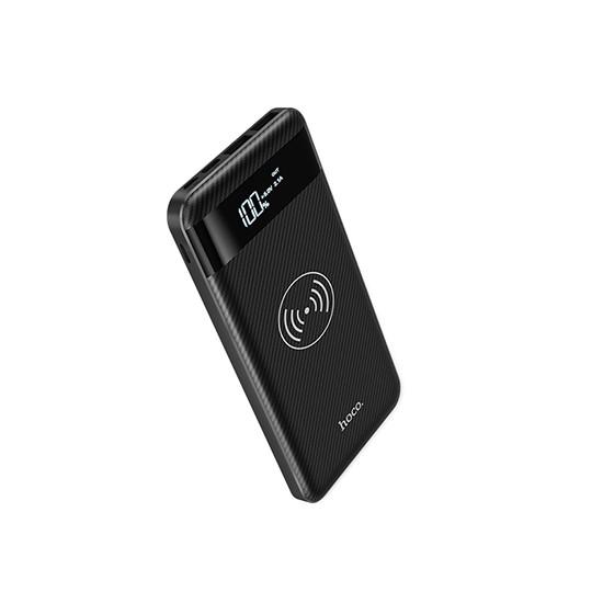 Hoco Wireless Power Bank 10000mAh Astute J11 black