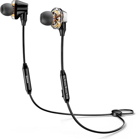 Изображение Baseus Encok S10 Dual Dynamic Bluetooth Headset NGS10-01 black