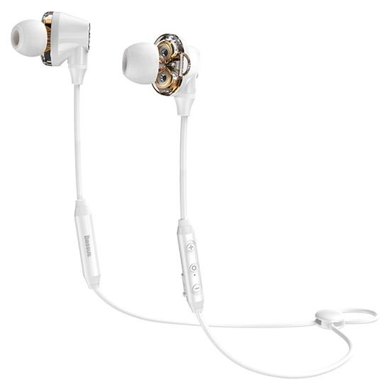 Baseus Encok S10 Dual Dynamic Bluetooth Headset NGS10-02 white