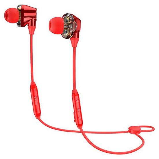 Изображение Baseus Encok S10 Dual Dynamic Bluetooth Headset NGS10-09 red