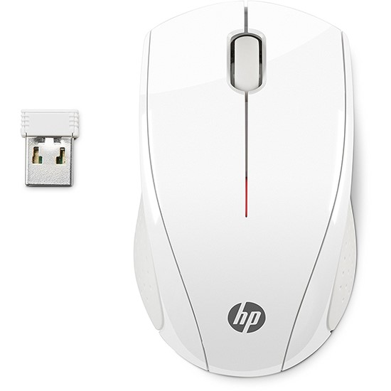 HP Wireless Mouse X3000 N4G64AA white
