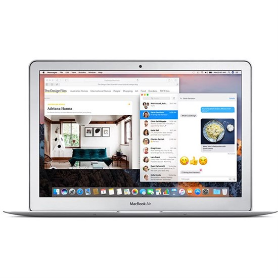 Изображение Apple MacBook Air 13.3 inch 1.8GHz i5, 8GB, 128GB PCIe MQD32 silver