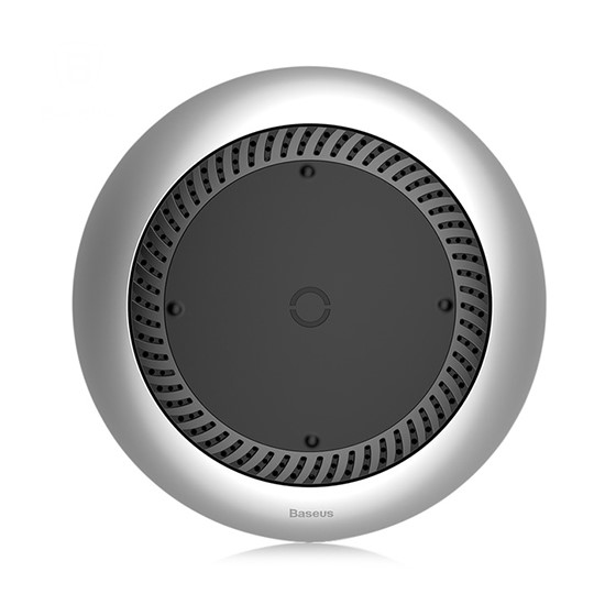 Baseus Whirlwind Desktop Wireless Charger CCALL-XU0S silver