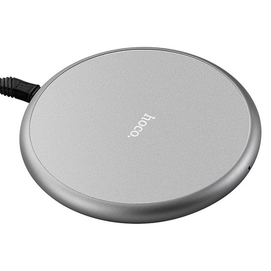 Hoco Roundness Wireless Rapid Charger CW3A grey