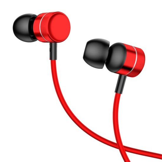 Baseus Encok Wire Earphone H04 1.2m NGH04-09 red