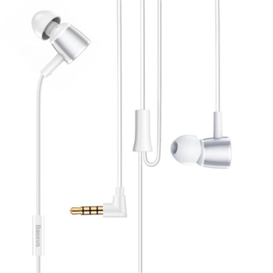 Изображение Baseus Encok Wire Earphone H07 NGH07-S2 silver