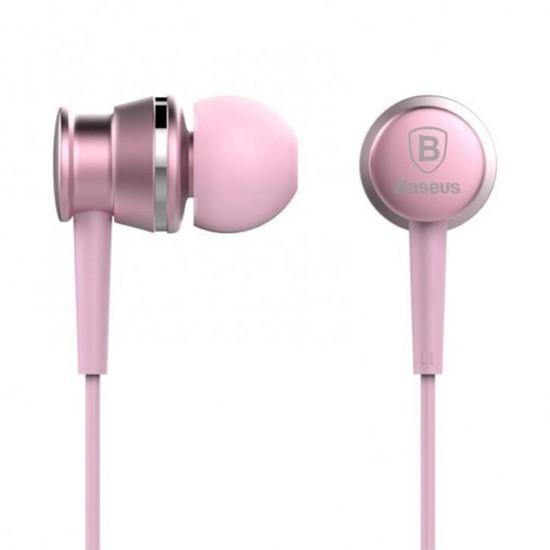 Изображение Baseus Lark Series Wired Earphones WEBASEEJ-LA04 pink