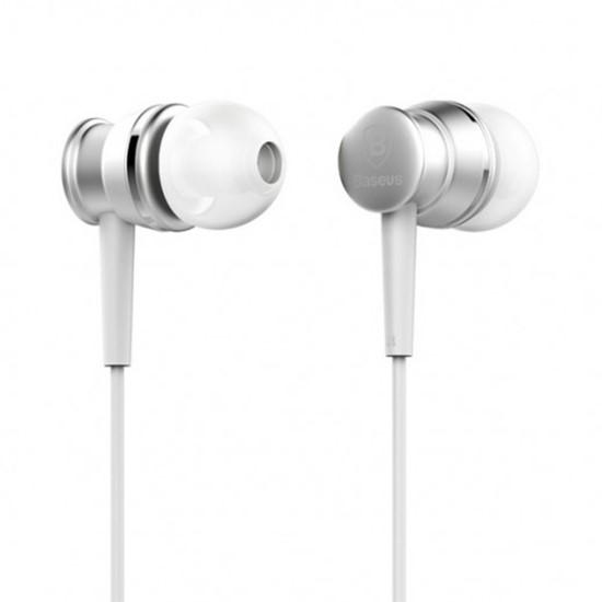 Baseus Lark Series Wired Earphones WEBASEEJ-LA0S silver