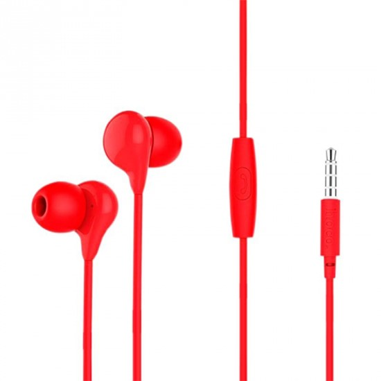 Hoco Candy Sound Universal Earphones M13 red