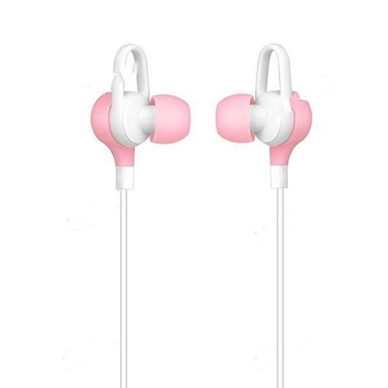 Hoco Gesi Metallic Universal Earphones M21 pink