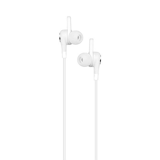 Изображение Hoco Gesi Metallic Universal Earphones M21 white