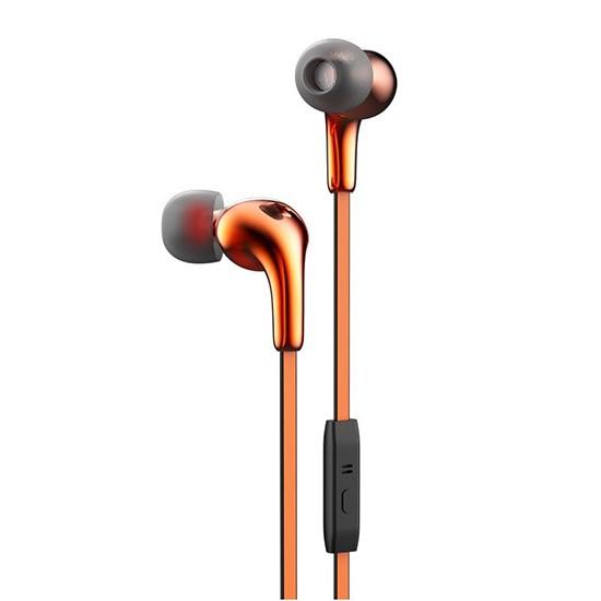 Hoco Glaring Earphone with Mic M30 orange