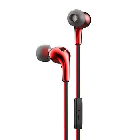 Hoco Glaring Earphone with Mic M30 red