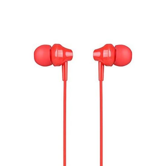 Изображение Hoco Initial Sound Universal Earphones With Mic M14 red