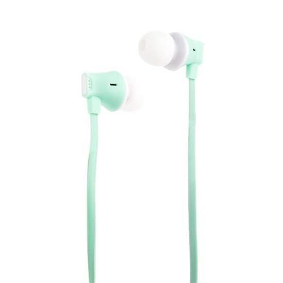 Hoco Warbler Universal Earphones With Mic M27 green