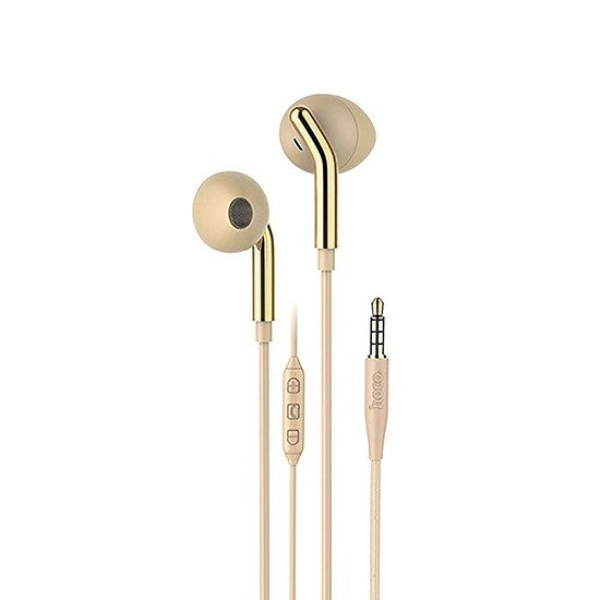 Hoco Your Meaning Wire Controllable Earphones With Mic M25 gold