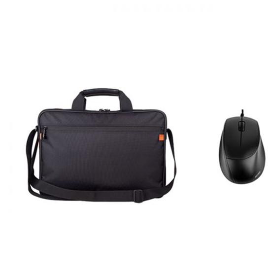 ACME Laptop Bag 15.6 inches CB-0106 16M37 + MS13 Optical mouse black