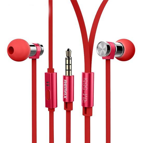 Remax Earphones RM-565 red