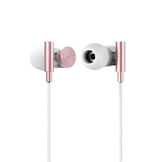 Remax metal HIFI earphone RM-530 rose gold