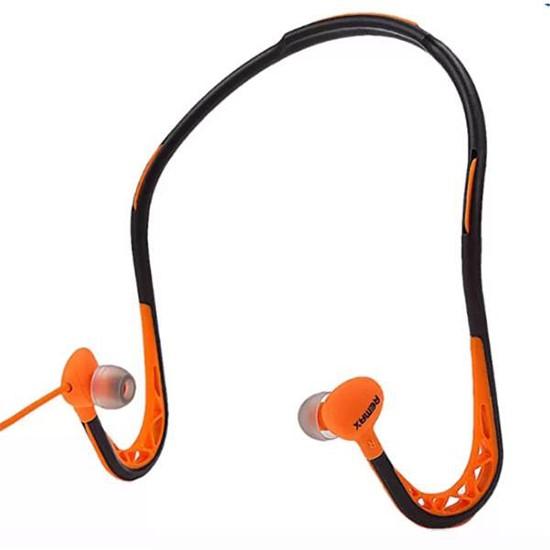 Remax Sports Wired Headset RM-S15 black/orange