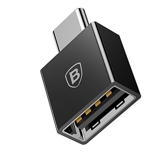 Изображение Baseus Exquisite Type-C Male to USB Female Adapter Converter CATJQ-B01 black