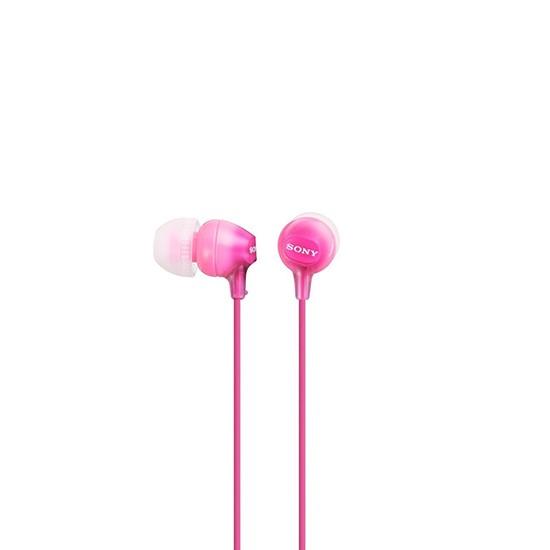 Sony Stereo Headphones MDR-EX15LPPIZ pink