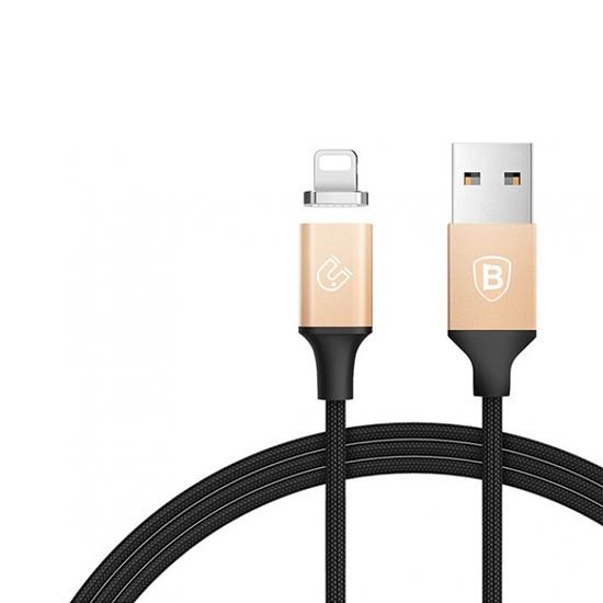 Baseus Insnap Series Magnetic Cable Lightning 1.2M CALNP-V1 gold