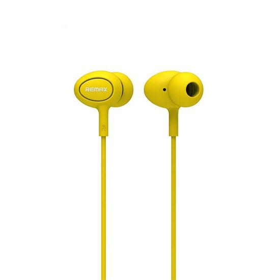 Изображение Remax Earphones RM-515 yellow