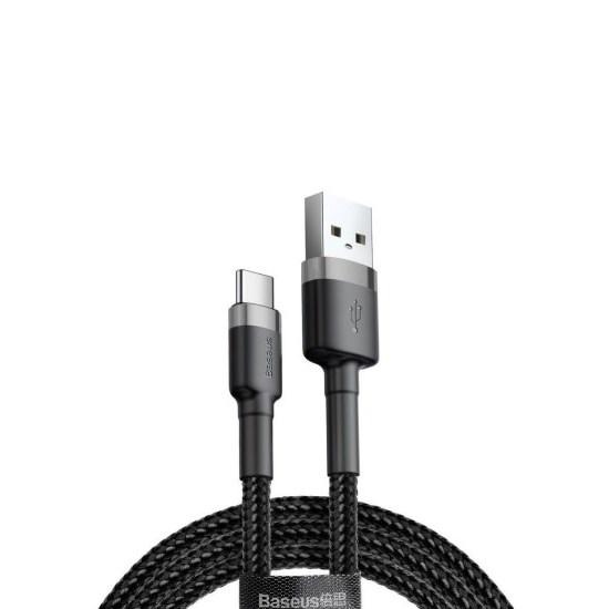 Baseus Kevlar USB Cable Type-C 3A 1m CATKLF-BG1 grey/black