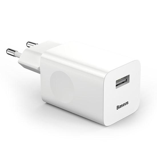Изображение Baseus Charging Quick Charger EU CCALL-BX02 White