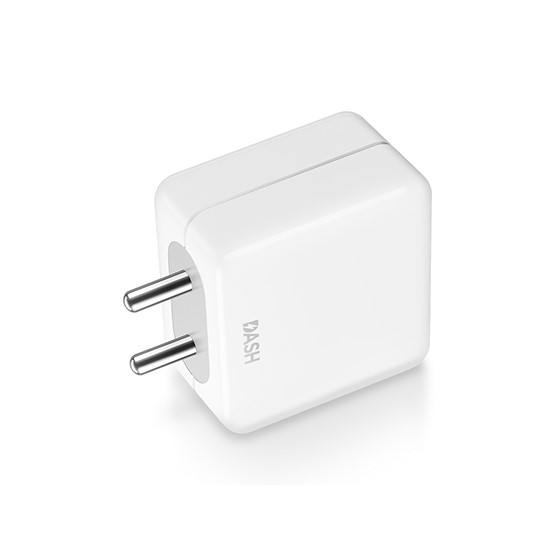 Dash Charge Power Adapter White
