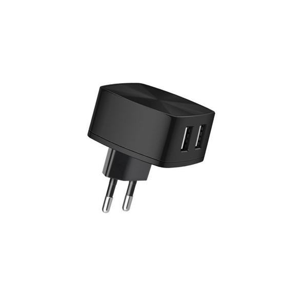Изображение Hoco Dual USB Wall Charger C26A EU Black