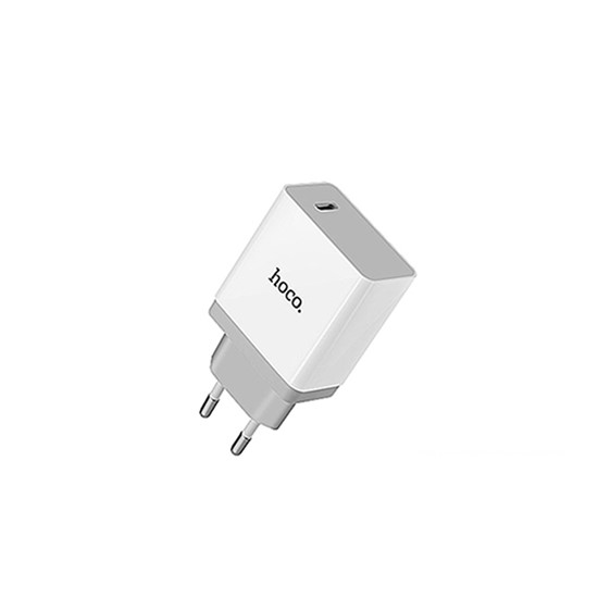 Hoco Single USB Wall Charger C24 EU White