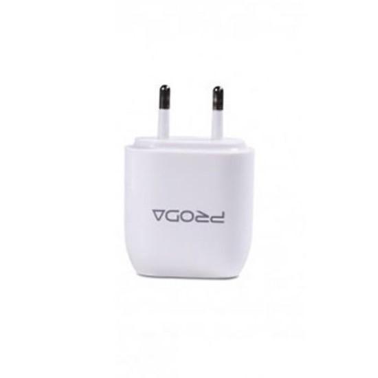 Proda USB Charger 2 USB RP-U21 Micro (2 round pin) White