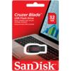 Sandisk Cruzer Blade 32GB Black