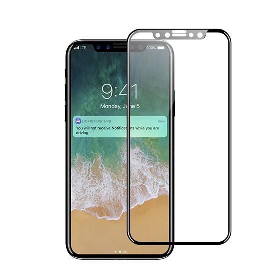 Изображение Glass Pro+ Full Screen Tempered Glass Apple iPhone X black