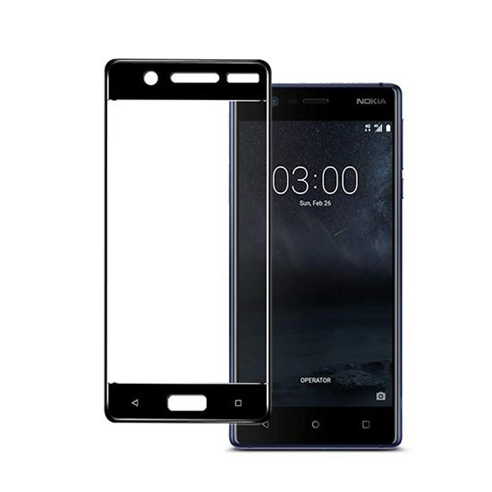 Изображение Glass Pro+ Full Screen Tempered Glass Nokia 3 black